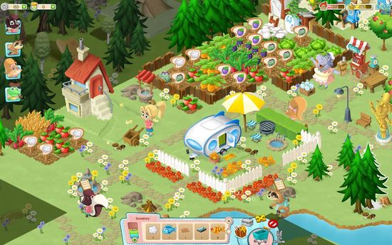 """Fantastic Forest - Game gây """"nghiện"""" trên MXH Facebook 2"""