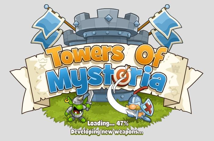 Tower and Mystoria - Game thủ thành vui nhộn trên MXH Facebook 1