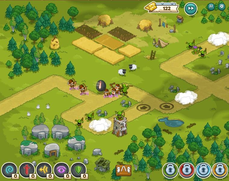 Tower and Mystoria - Game thủ thành vui nhộn trên MXH Facebook 5
