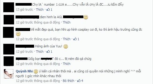 Quỳnh Nhi X5 gây động chạm trên mạng xã hội 2