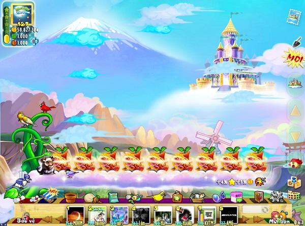 Khu Vườn Trên Mây (KVTM) game dẫn đầu Top 1 danh sách các game mạng xã hội hấp dẫn nhất việt nam 1_Do_hoa_dep_mat_cua_Khu_Vuon_Tren_May-46a40