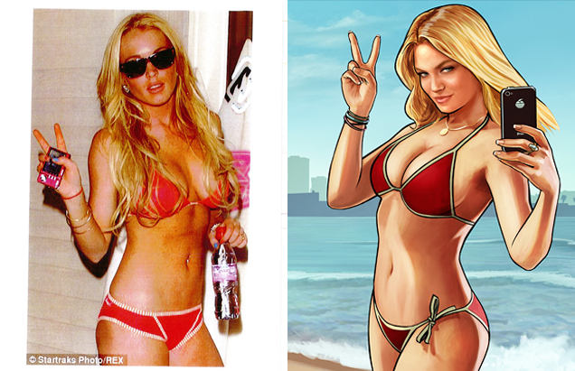 Lindsay Lohans Grand Theft Auto V Lawsuit Is Getting Intense