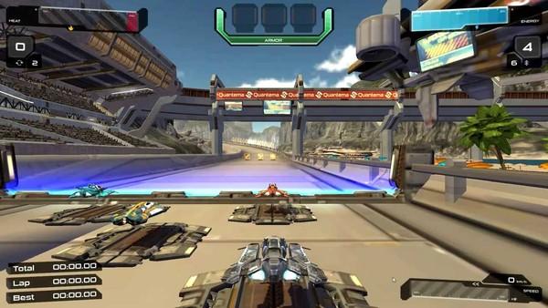 Quantum Rush - Game đua xe bắn súng ấn tượng 3