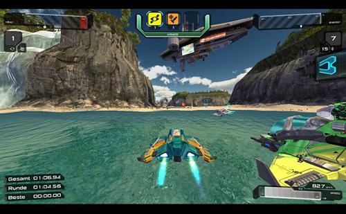 Quantum Rush - Game đua xe bắn súng ấn tượng 4