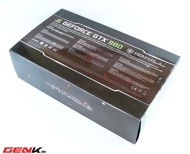 Card đồ họa Inno3D GTX 980 iChill: Quái vật hiệu năng