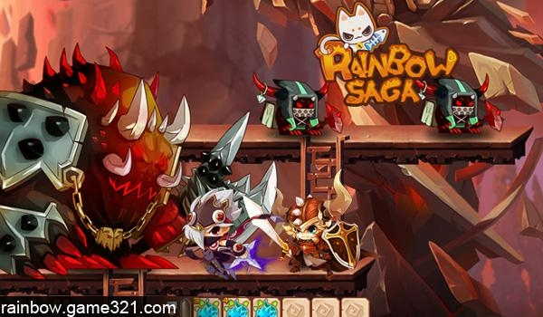Rainbow Saga - Game online nhẹ nhàng cho fan cuồng manga
