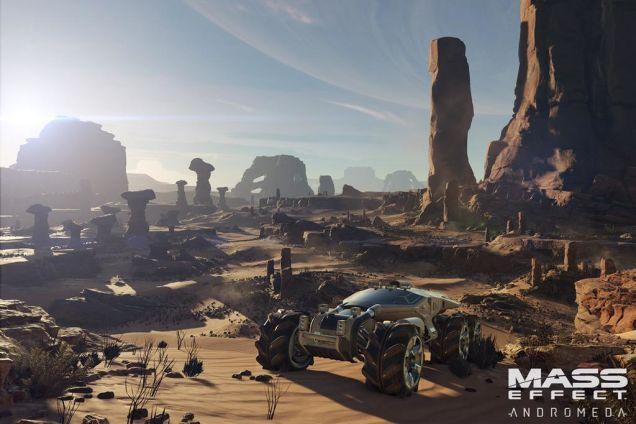 Mass Effect: Andromeda chính thức lộ diện