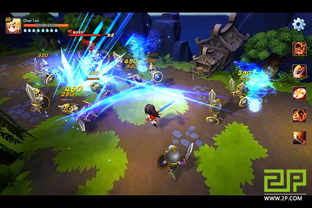 Tome of the Sun - Game nhập vai liên trảm cực đã tay từ đại gia NetEase