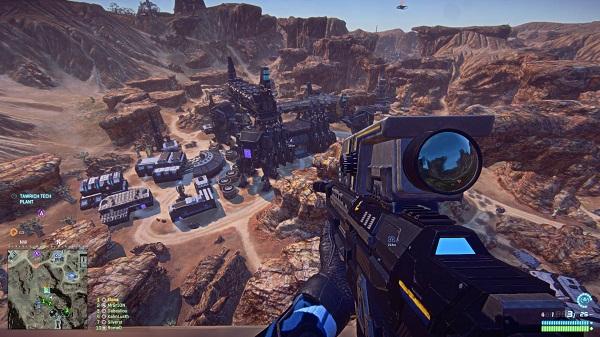 Bom tấn PlanetSide 2 chuẩn bị đổ bộ lên máy console