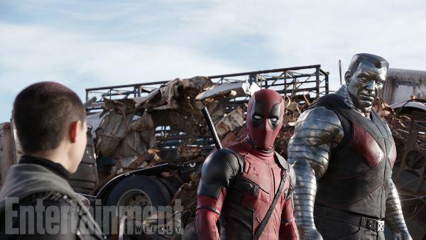 Colossus trong Deadpool có tạo hình khá giống truyện tranh Marvel