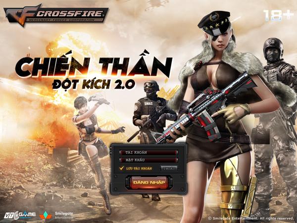 Đột Kich là tựa game ăn khách đứng thứ 2 tại Trung Quốc