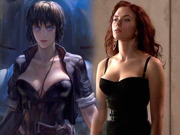 Scarlett Johansson sẽ đóng phim chuyển thể từ manga Ghost in the Shell