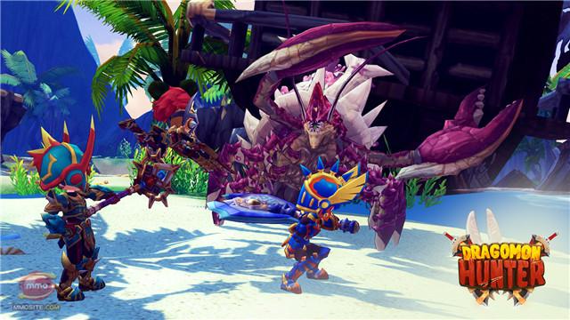 Dragomon Hunter - Game săn quái vật thú vị sắp ra mắt