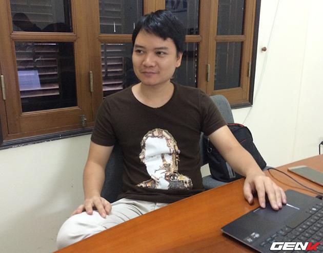 Anh Nguyễn Duy Sơn chia sẻ về dự án game của mình.