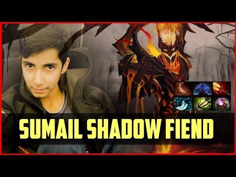 DOTA 2: Tham khảo cách lên đồ Shadow Fiend siêu dị của thần đồng SumaiL