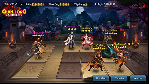 Chân Long Mobile sở hữu gameplay nhập vai kết hợp chiến thuật đặc sắc