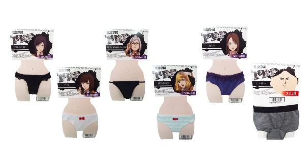 Nhật Bản mới ra mắt mẫu quần lót của các nhân vật trong Prison School