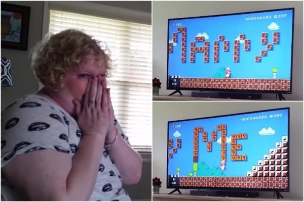 Độc đáo màn tỏ tình của game thủ theo phong cách Mario