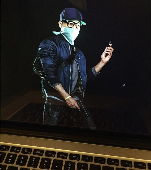 Nhân vật chính Marcus trong một hình ảnh không chính thức của Watch Dogs 2.