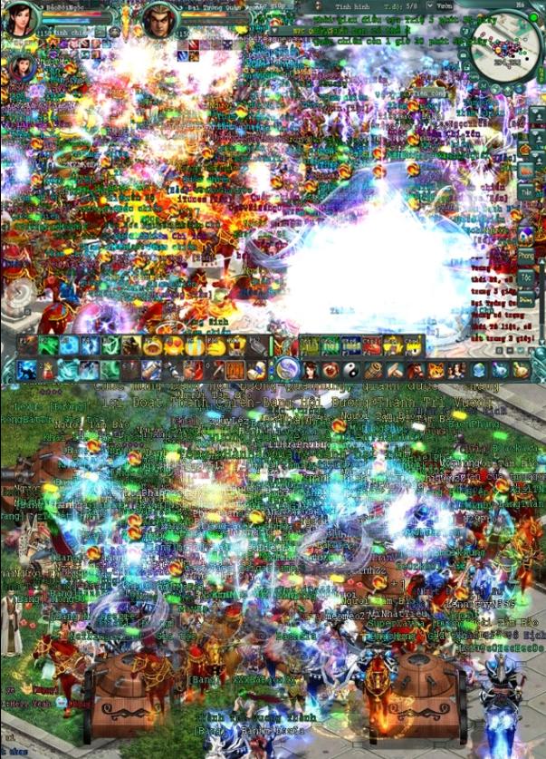Chinh Đồ là huyền thoại game online duy nhất sở hữu tính năng Quốc chiến, cho phép hàng trăm ngàn game thủ PK nhau cùng một bản đồ!