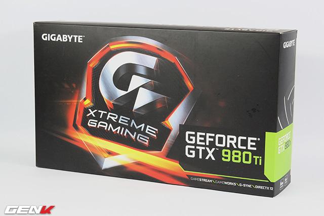 Gigabyte GTX 980 Ti Xtreme Gaming: Card đồ họa độc những ngày năm mới