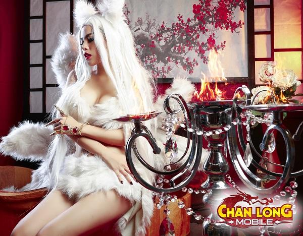 Phi Huyền Trang hóa thân Đát Kỷ đoạt hồn game thủ Chân Long Mobile