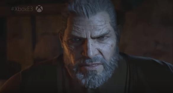 Marcus Fenix không còn là chiến binh dũng mãnh ngày nào trong Gears of War 4.