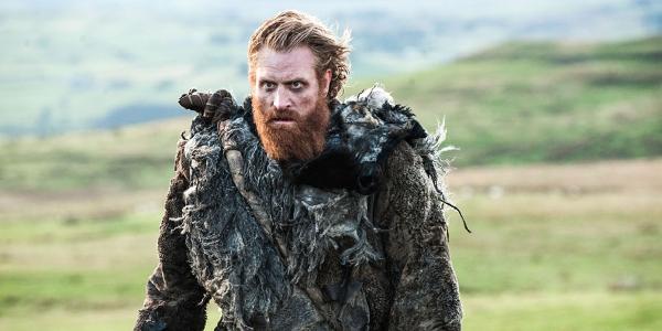 Kristofer Hivju trong vai diễn chiến binh Wildling - Tormund Giantbane của mình trong Game of Thrones