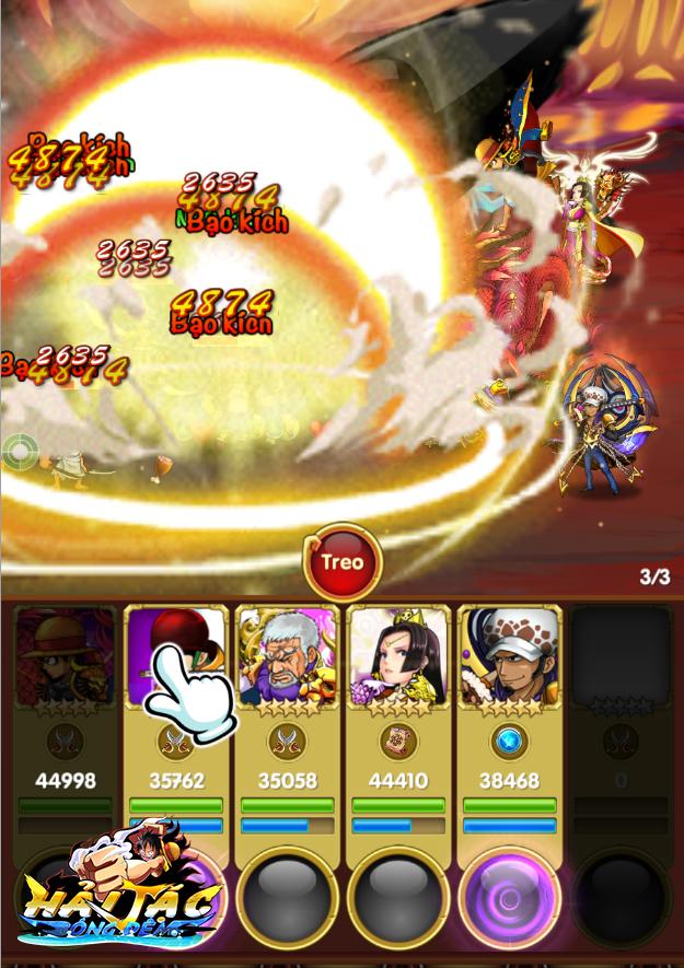 """Một chạm để tiến hành """"combat"""" trong game"""