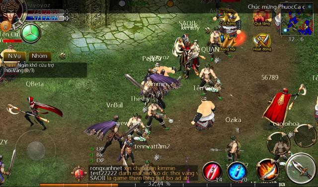 Hình ảnh trong game của Ác Thần