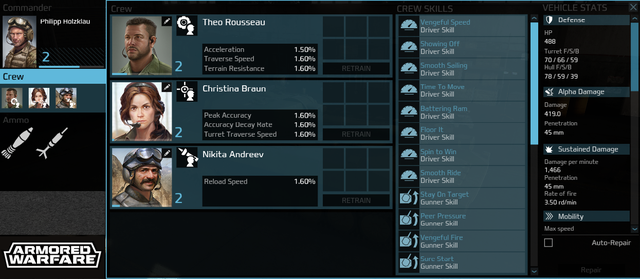 Game bắn tank Armored Warfare khoe khoang lối chơi hấp dẫn