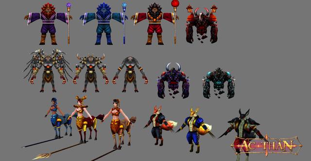 Tạo hình nhân vật trong game Ác Thần