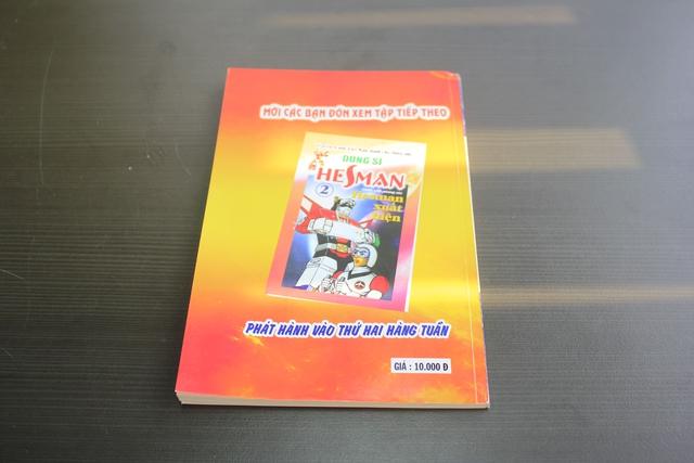 Trên tay truyện tranh Dũng Sĩ Hesman tập đầu tái bản