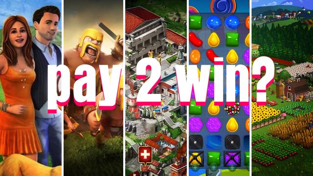 Pay-to-win thường là thuật ngữ gắn liền với những sản phẩm free-to-play