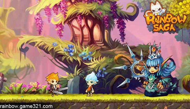 Rainbow Saga - Game hành động vui nhộn cho gamer Việt