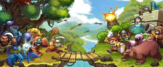 Heroes of the Banner - Game chống cửa nhẹ nhàng mở cửa thử nghiệm