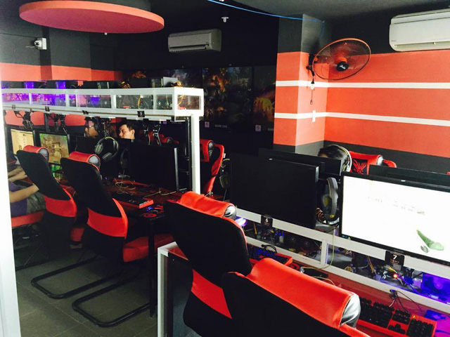 Xuất hiện quán game kiêm nhà hàng dành cho game thủ Việt