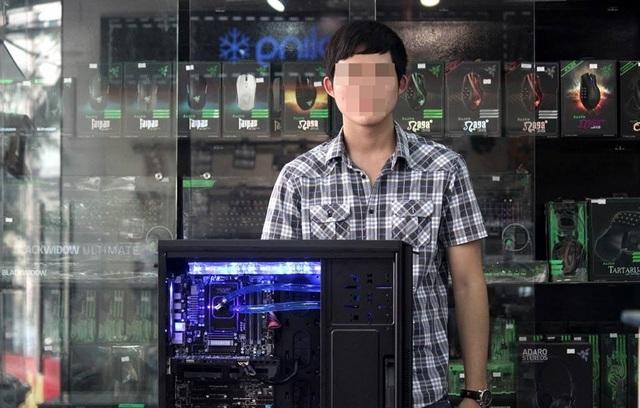 Game thủ bỏ ra 10 triệu đồng để làm mát máy tính