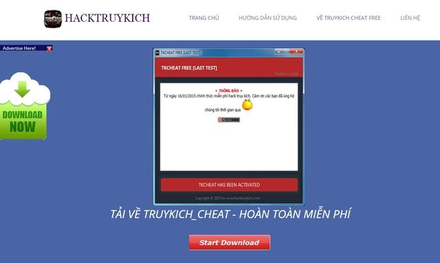 Game thủ Việt cần cẩn thận vì các phần mềm này đều có chứa virus độc hại