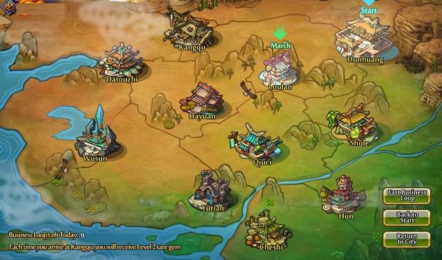 Chibi Warriors - Game siêu dễ thương được mua về Việt Nam