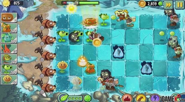 Plants vs. Zombies 2 - Ấn tượng với bản cập nhật đầu năm