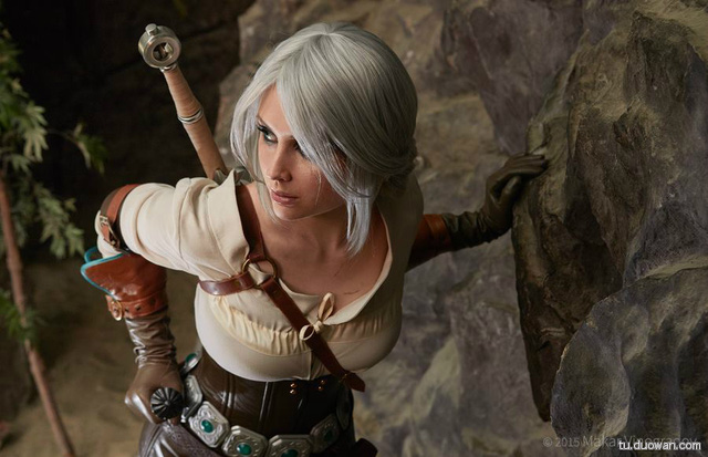Cosplay cực chất về các nhân vật trong The Witcher 3