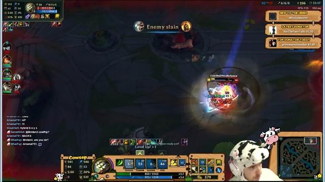 Khả năng sống sót của Master Yi phong cách sức mạnh phép thuật + tốc độ đánh là tuyệt vời.
