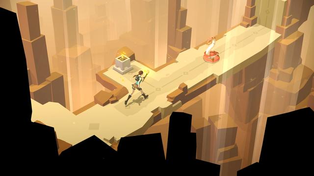 Tìm hiểu về Lara Croft GO - Game hay nhất trên AppStore 2015