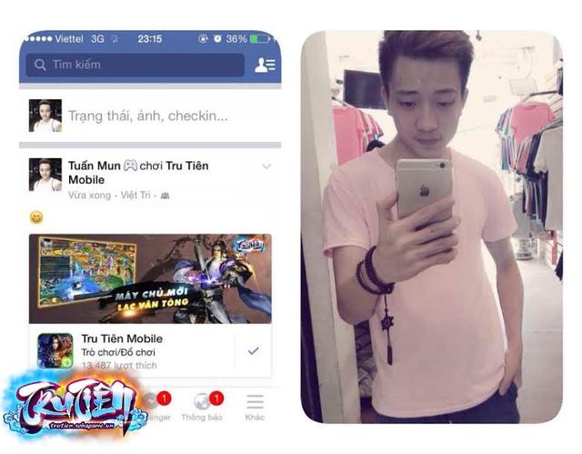 Tuấn Mun - Chàng game thủ hài hước luôn được chú ý trong Tru Tiên Mobile