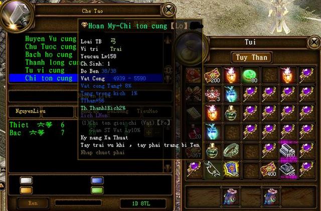 Nhân vật Chinh Đồ của tôi được coi là Mạnh Thường Quân tái thế khi luôn đem cho người chơi khác nhiều vật phẩm giá trị.