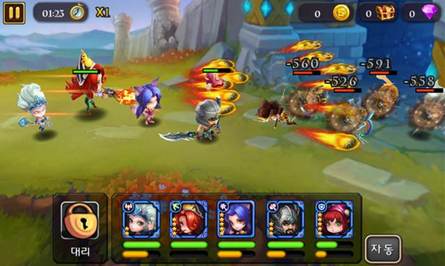 Nhờ sử dụng lối chơi Time-Based thế hệ mới, RUReady - game LoL Mobile đã thu hút được hơn 4.200.000 người chơi tham gia tại khu vực toàn Châu Á.