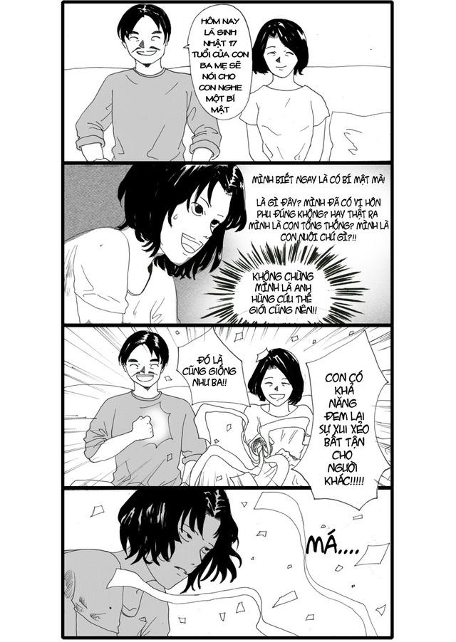 Bad Luck - Bộ truyện tranh hài Việt gây sốt hiện nay