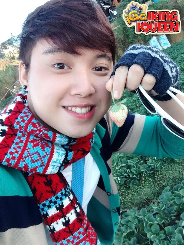 Anh thợ làm bánh Huỳnh Thành Châu với gương mặt và tính cách vô cùng dễ thương