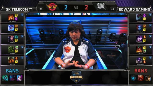 Ban/Pick sai khiến SKT thua EDG tại MSI game 5.